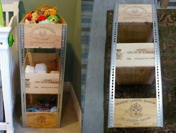 Idées pour recycler des caisses à vin #idéebric…