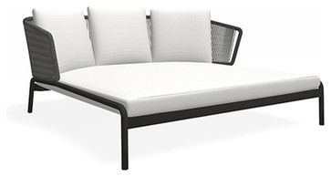 Roda Spool 008 Double Lounge - contemporary - Outdoor Chaise Lounges - Boston - Casa Outdoor Boston