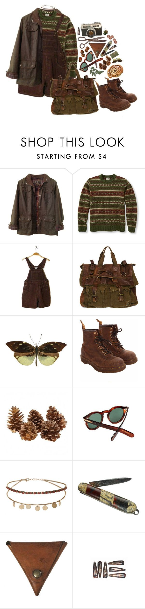 """#374"" by sappyholygirl ❤ liked on Polyvore featuring Barbour, Belstaff, Nemesis, Dr. Martens, Cutler and Gross, Miss Selfridge and Palila"