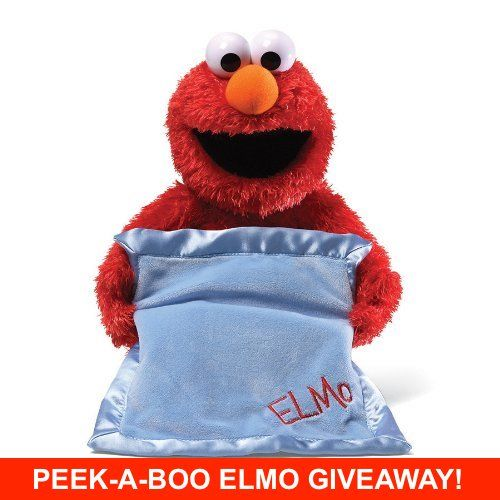 Gund Sesame Street Peek-A-Boo Elmo Giveaway
