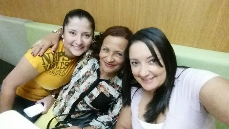 Mom and sis ...