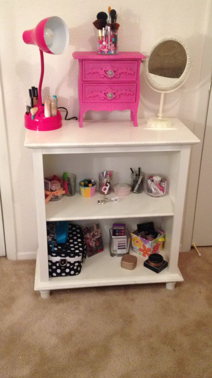 11 year old make up storage