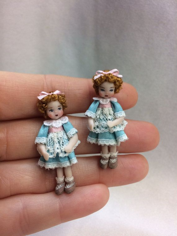 Little Handmade toy Maya by AnandaMiniaturas on Etsy