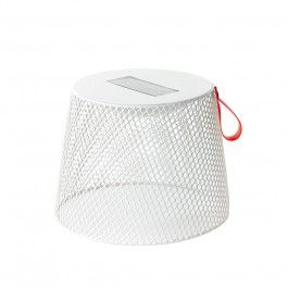 Pouf/ Table basse lumineuse à énergie Solaire Ivy Emu JardinChic