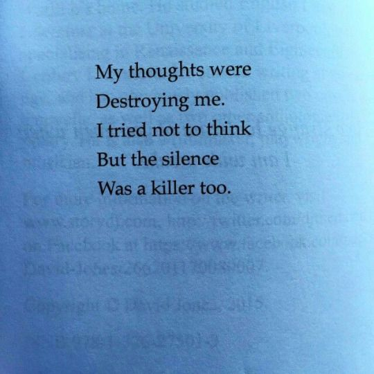 An overview of the suicidal thoughts