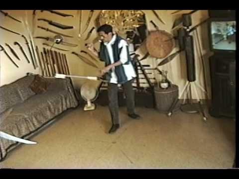 Visayan Corto Kadena Eskrima - Practice with Pendulum - Double  Blade