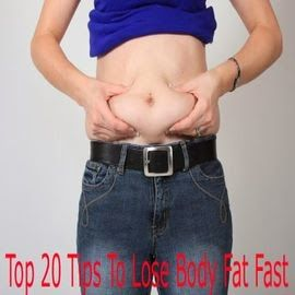 Tips Palace: Tips To Lose Body Fat Fast