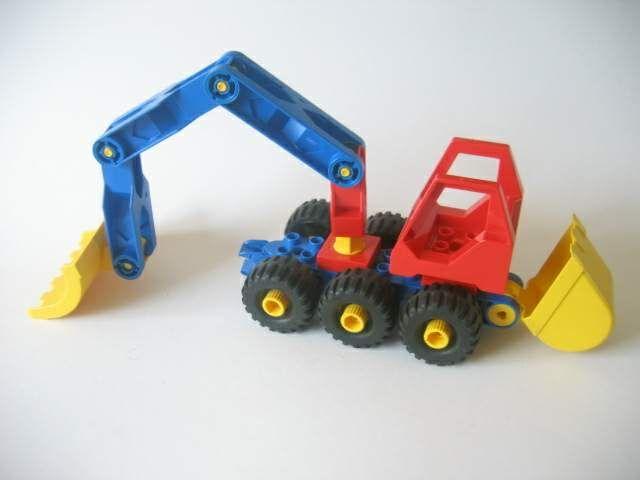 kraanwagen van lego toolo - soort technisch duplo