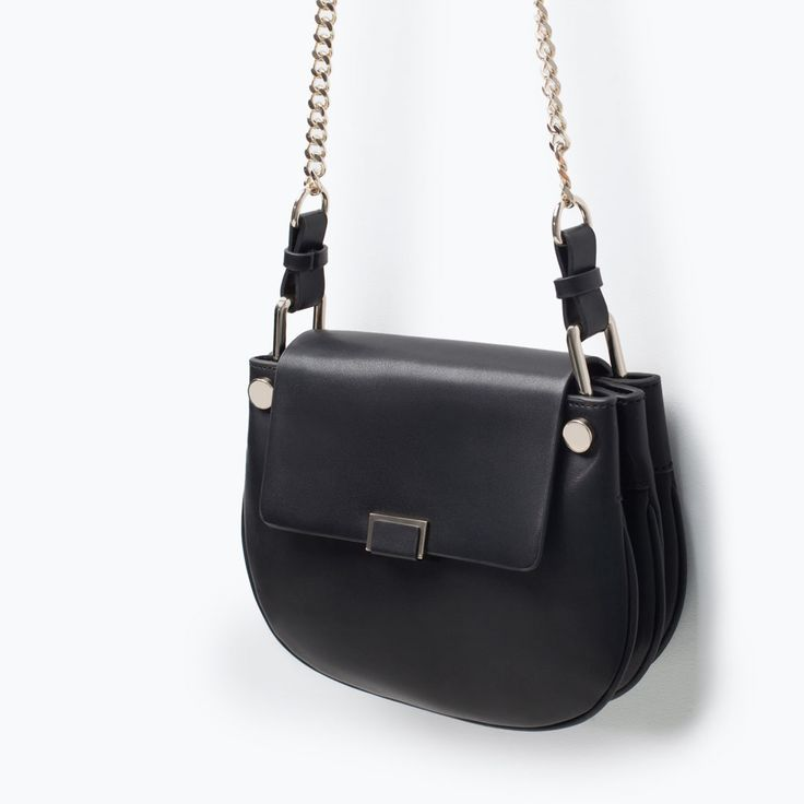 Zara Shoulder Bag With Gusset 48