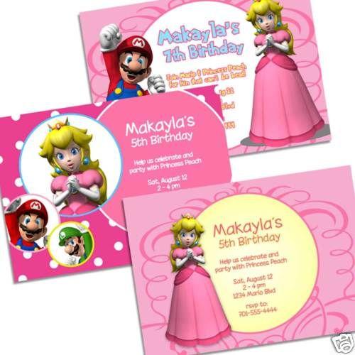 Princess Peach Birthday Party - Kids Birthday Parties