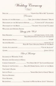 sample christian wedding ceremony