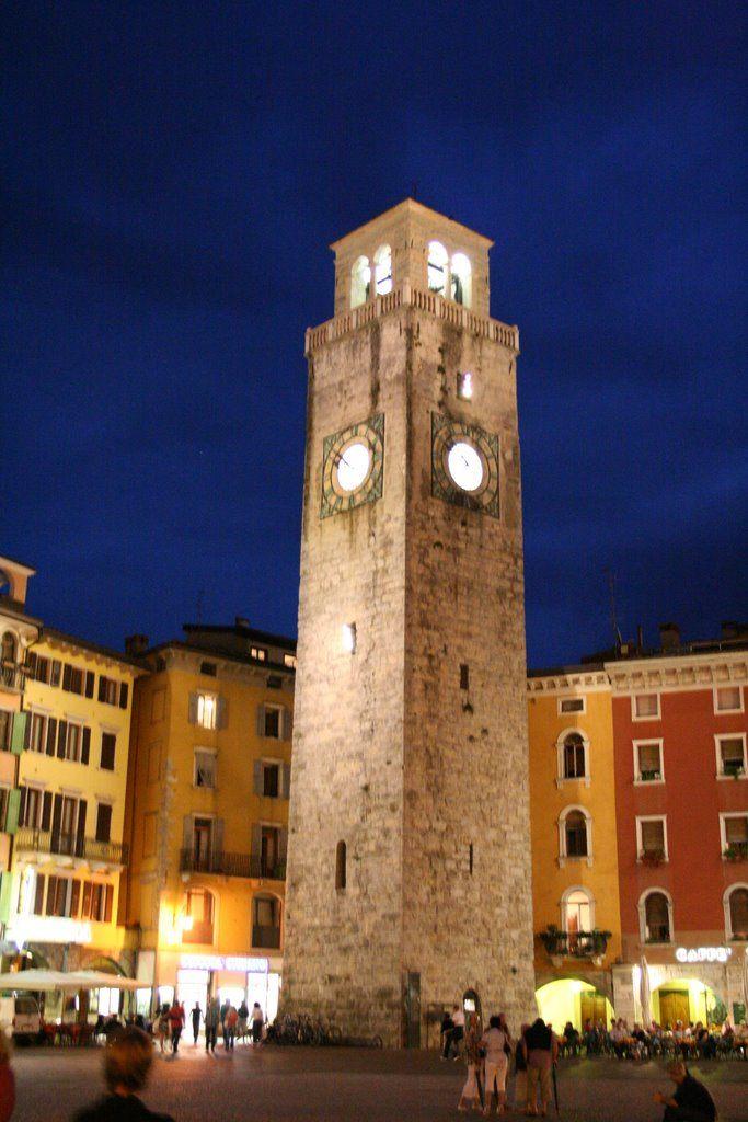 Torre Apponale Belfry of Riva Del Garda ~ Trento, Italy
