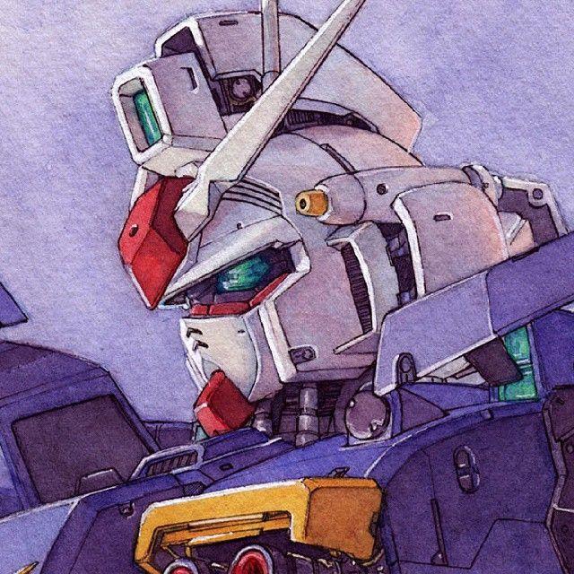Gundam GP01 detail #Gundam #illustration #drawing #mecha #gp01 #gunpla #manga #anime #otaku #watercolor #instaart #picture #art #artwork #mechanical #pg #ink #illust #robot #fanart #suit #bandai #ilustracion #acuarela #dibujo