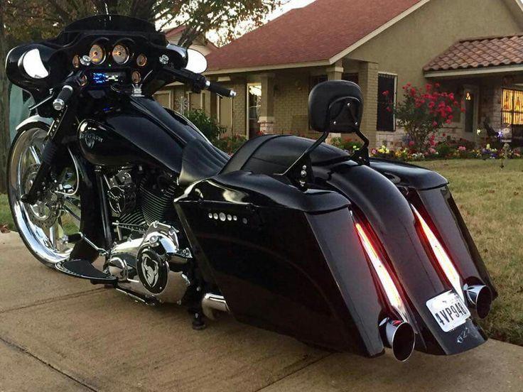 Bagger #harleydavidson #motorcycles