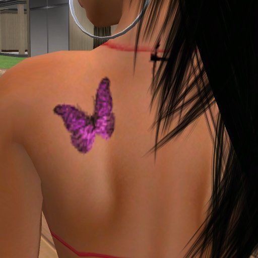 The 25  best Purple butterfly tattoo ideas on Pinterest ...