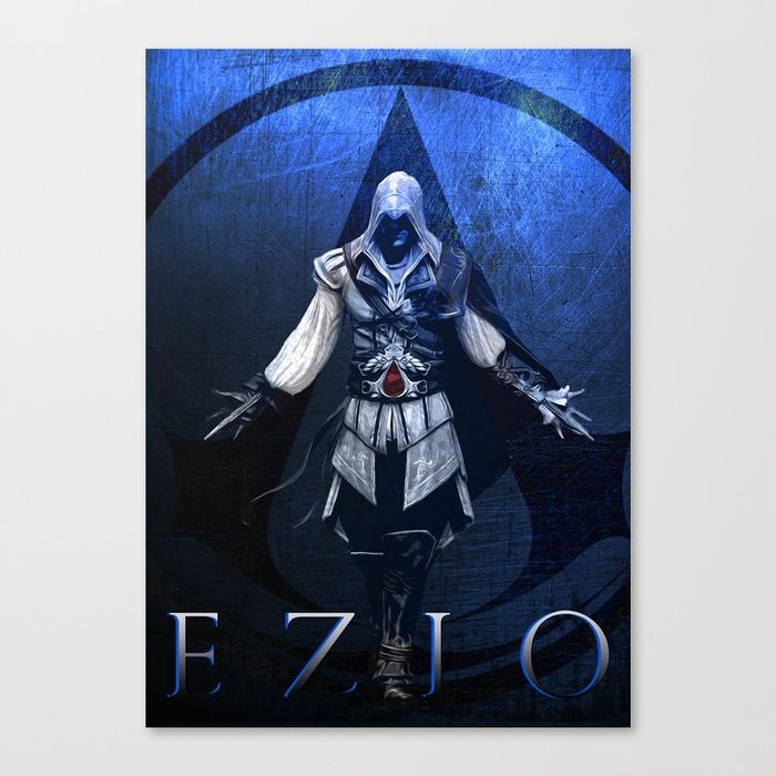 25% Off This Item With Code: ARTDECOR - Sale Ends Tonight at Midnight PT! Buy Assassin's Creed Ezio Poster Canvas Print. sales #save #discount #gifts #deals #canvasprint #gaming #gamer #family #kids #shopping #onlineshopping #homedecor #wallart #homegifts #geek #popular #cool #awesome #campus #dorm #gamingposter #ezioauditore #giftideas #poster #assassinscreedposter #style #ezioauditoreposter #fraternity #videogames #nerd #giftsforhim #giftsforher #39 #gameroom #metalprint