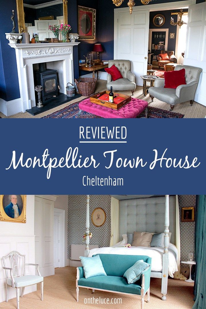 Classic meets quirky at Montpellier Town House in Cheltenham