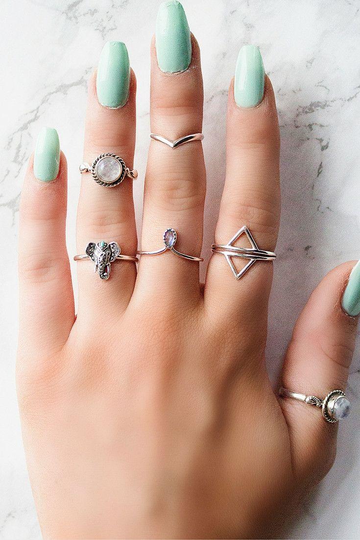 ➳ Baby Elephant Ring ➳ 925 Silver // boholake // mystic // rings // jewellery // jewelry // sterling silver // boho // bohemian // jewels // hippie // gypsy // wanderlust // sterling silver
