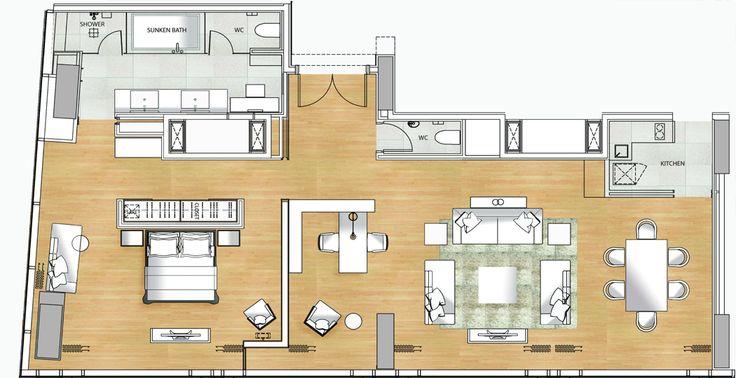presidentual suite floor plans | PRESIDENTIAL SUITE