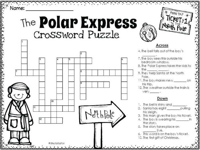 Polar Express Coloring Pages Worksheets And Puzzles Polar Express Activities Polar Express Christmas Party Polar Express Party