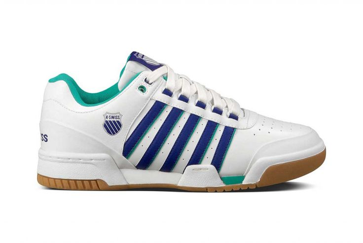 "K-Swiss: Majors Pack   K-Swiss continues to delve in to their archives for the re-issue of some of their most iconic silhouettes, and to celebrate the most prestigious Tennis tournaments from around the globe they've announced the release of their ""Majors Pack"". The pack will feature both Si-18 International and Gstaad models in two colourways."