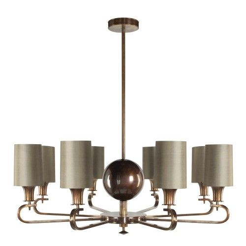LIGHTING SWOON: Richard Taylor Designs Munich Chandelier Eight Arm