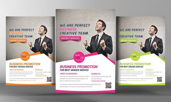 Creative Business Flyer Template by Business Templates on @creativemarket