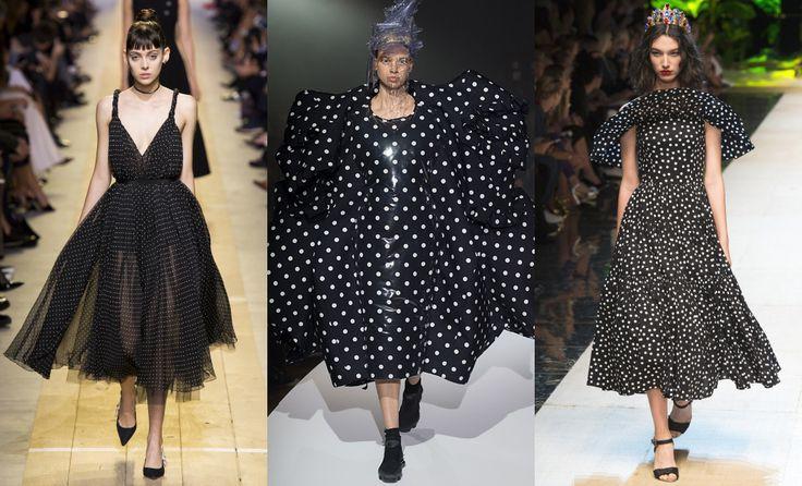 Christian Dior, Comme des Garçons, Dolce & Gabbana