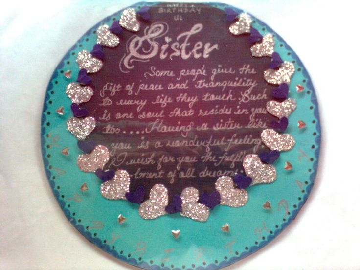 Card for sister Made by Ashna Mundhra