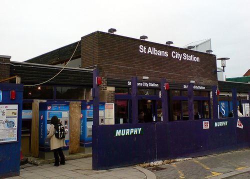 St Albans City Railway Station (SAC) in St Albans, Hertfordshire