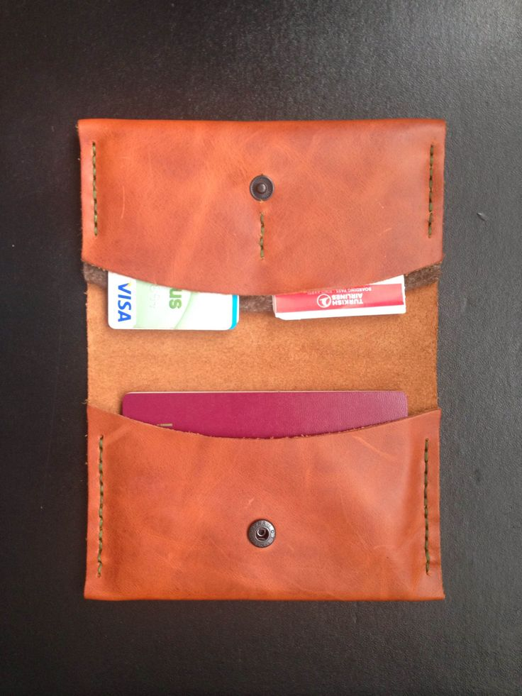 kahverengi pasaport kılıfı - brown passport case