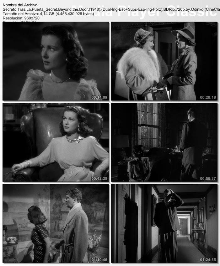 Secreto tras la puerta | 1948 | Capturas de pantalla