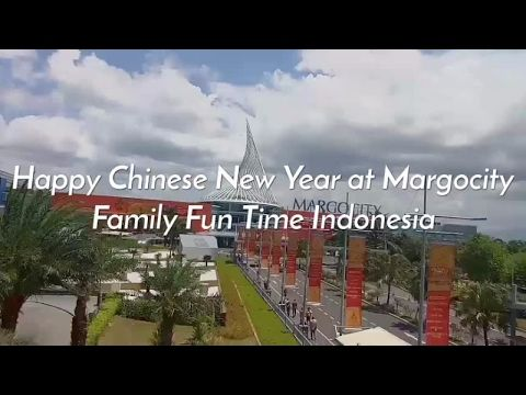 Happy Chinese New Year at Margocity, Depok, Indonesia