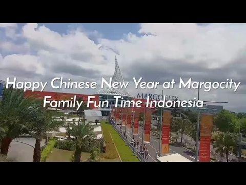 Happy Chinese New Year at Margocity, Depok, Indonesia