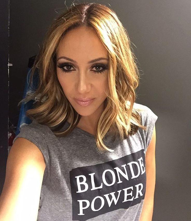 Just me & a little ladder taking a selfie #rhonj #blondepower                                                                                                                                                      More