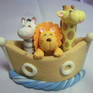 Cake topper: Birthday, Ideas, Noahs Ark Cake Topper, Cakes, Noah Ark, Caketoppers, Cake Toppers, Animal