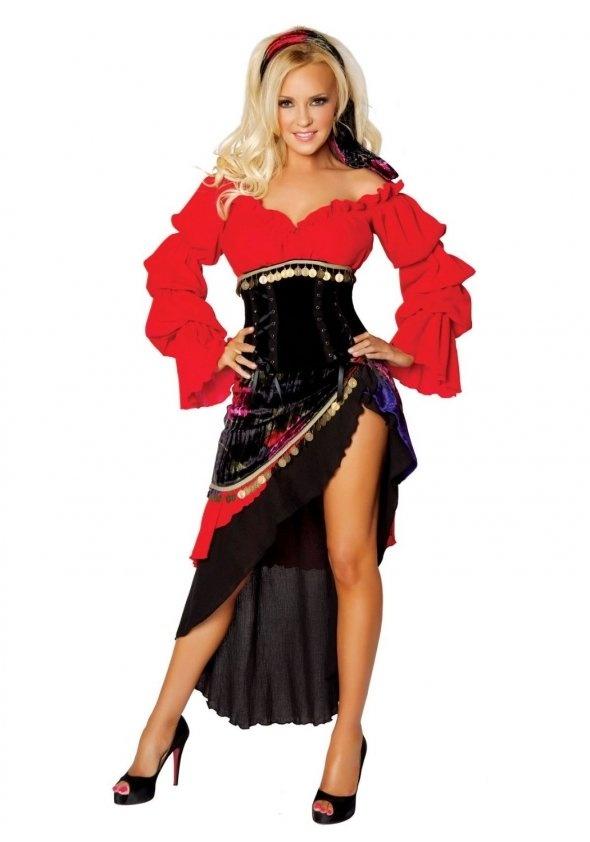 Tarot Card Gypsy Sexy Costume State Fair Seasons