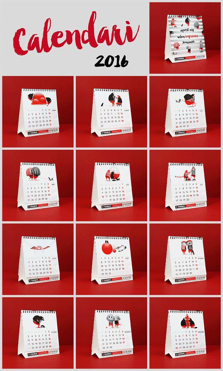 calendari, calendario, tormiq, imprenta, barcelona