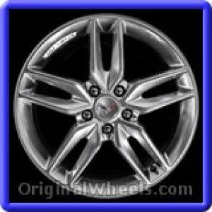 Chevrolet Corvette 2014 Wheels & Rims Hollander #5635  #Chevrolet #Corvette #ChevyCorvette #2014 #Wheels #Rims #Stock #Factory #Original #OEM #OE #Steel #Alloy #Used