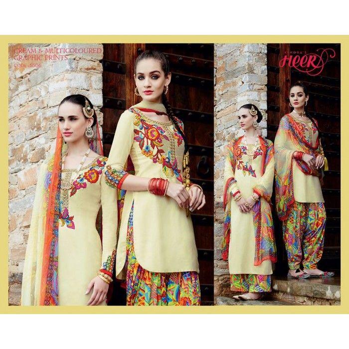 Heer Designer Salwar Suit ( Code - 5506 )