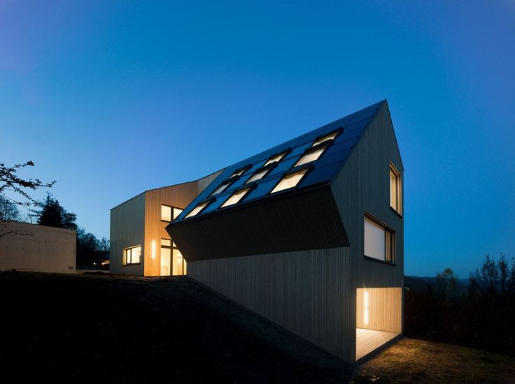 Super Stylish Eco Friendly Home. It Is The First Carbon Neutral Home In  Austria