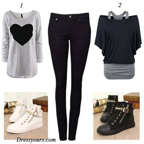 ✝☮✿★ FASHION for GIRLS ✝☯★☮ http://today-fashionn.blogspot.com/2013/10/outfits-with-converse-sneakers-2013-for_15.html