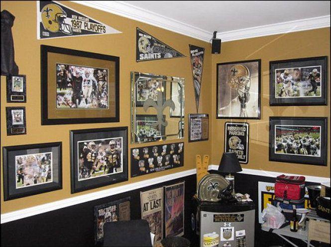 Sports Rooms Man Caves | Danny's Saints Man Cave 3 | NOLA.com