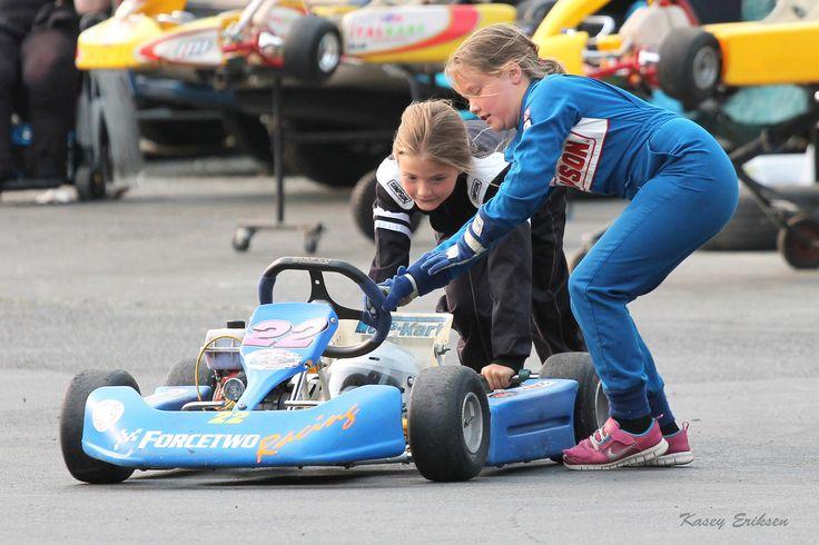 Karting is fun!   by KaseyEriksen