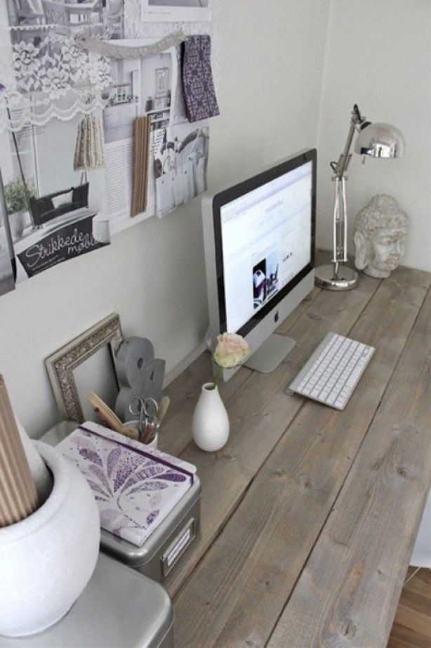 Hoe maak je thuis een handige en sfeervolle werkplek? door Tamara