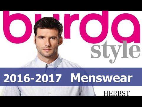 Каталог Burda мужские  и спортивные модели Осень-зима 2016-2017