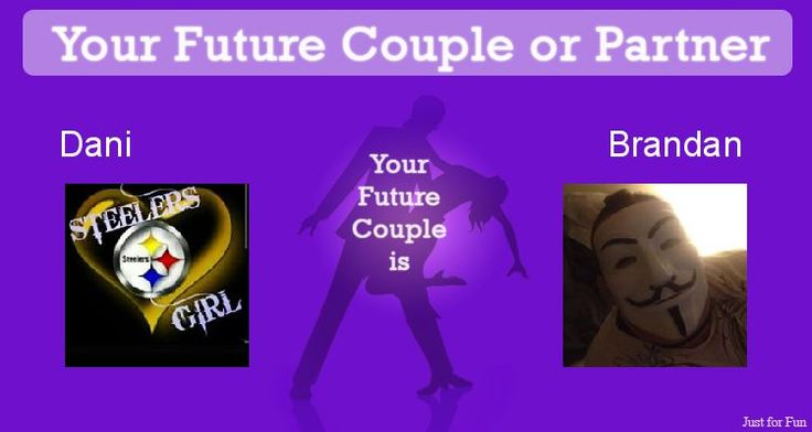 Check my results of Find Your Future Couple or Partner