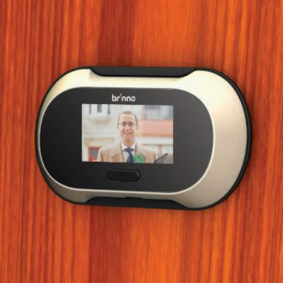 Help Bring Your Home Into The Century By Installing The LCD Door Peephole.  This High Tech Peephole Utilizes A Small LCD Screen To Let You Clearly See  Whou0027s ...