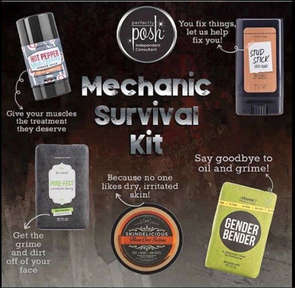 Perfectly Posh Mechanic Survival Kit  https://llauhoff.po.sh