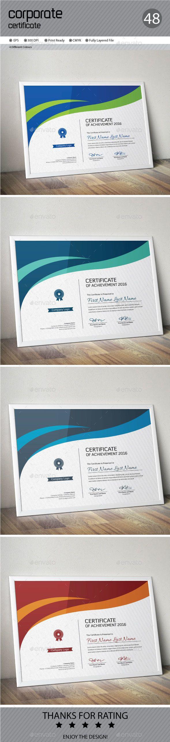 Certificate Template Vector EPS. Download here: http://graphicriver.net/item/certificate/14420230?ref=ksioks